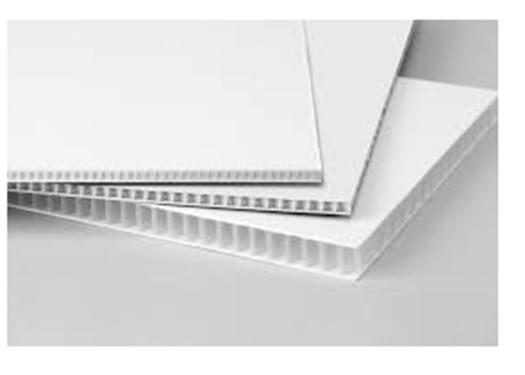 4 mm Corrugated Plastic Sign Blanks White