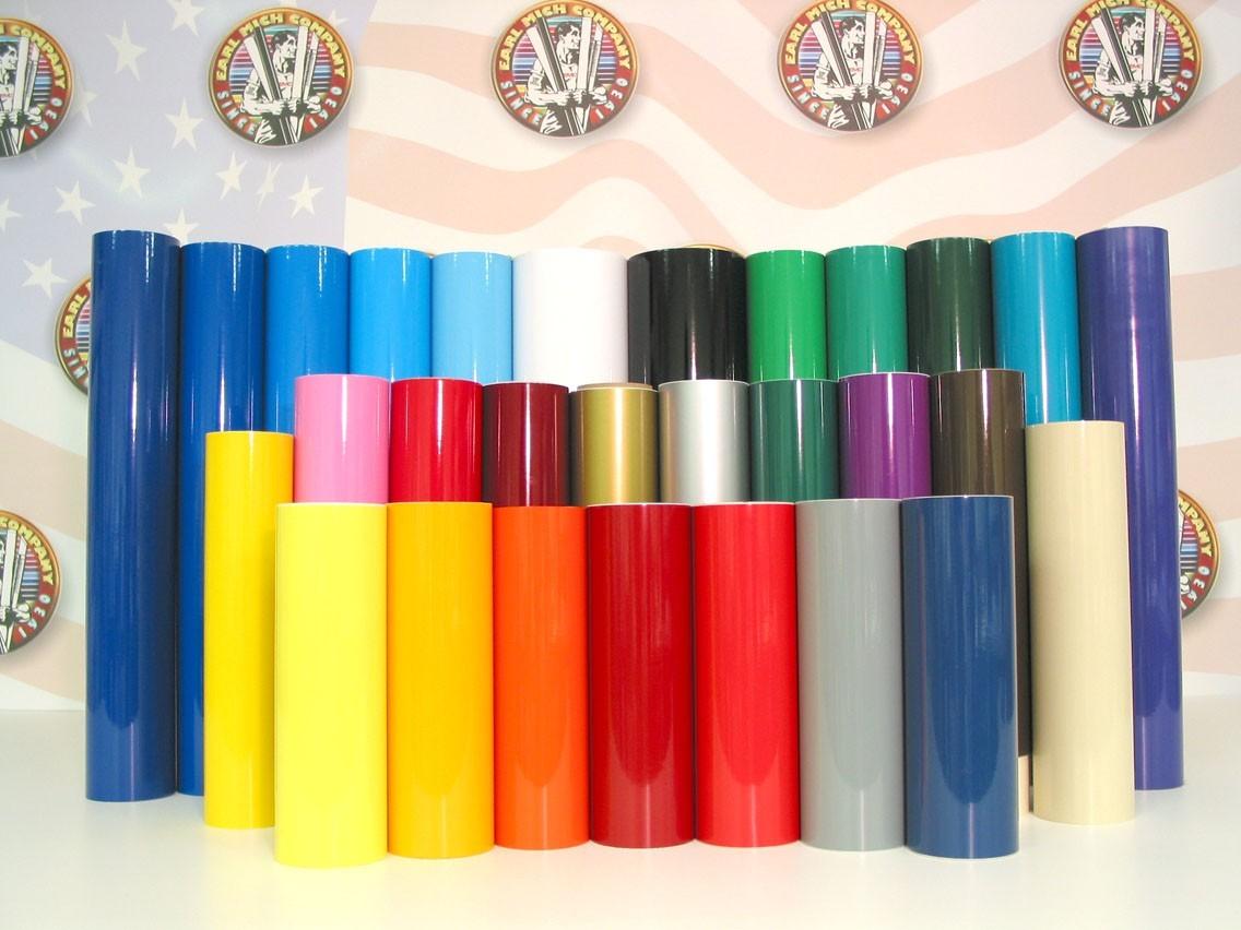 Smart500 Colors 3.0 mil Polished Polymeric Flexible Calendered Vinyl (EMC500)
