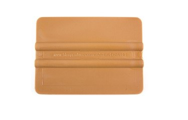 "EMC 4"" Gold Squeegee"