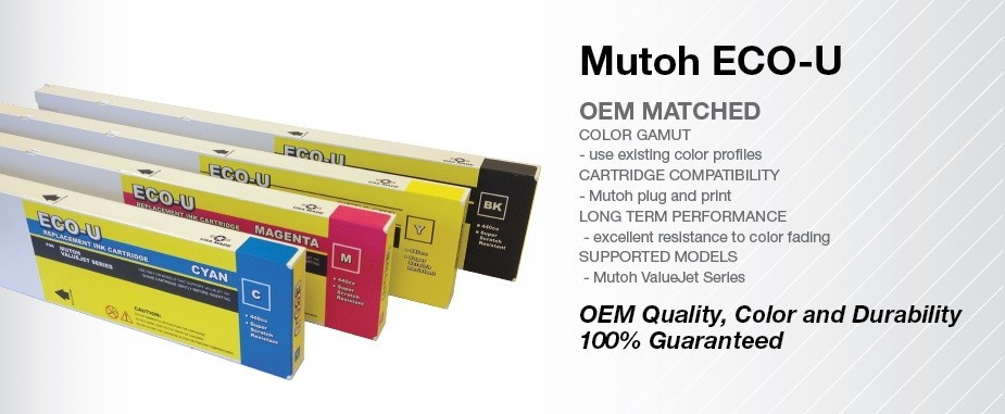 MUTOH ECO-U ValueJet 440ml Cartridges