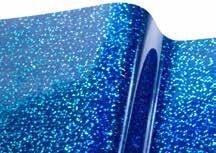 "R-TAPE EFX 2.8 mil Decorative Royal Blue Sequins ""Metal Flake"""