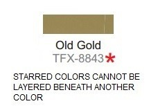 Specialty Material TFX-8843 Old Gold ThermoFlex Xtra