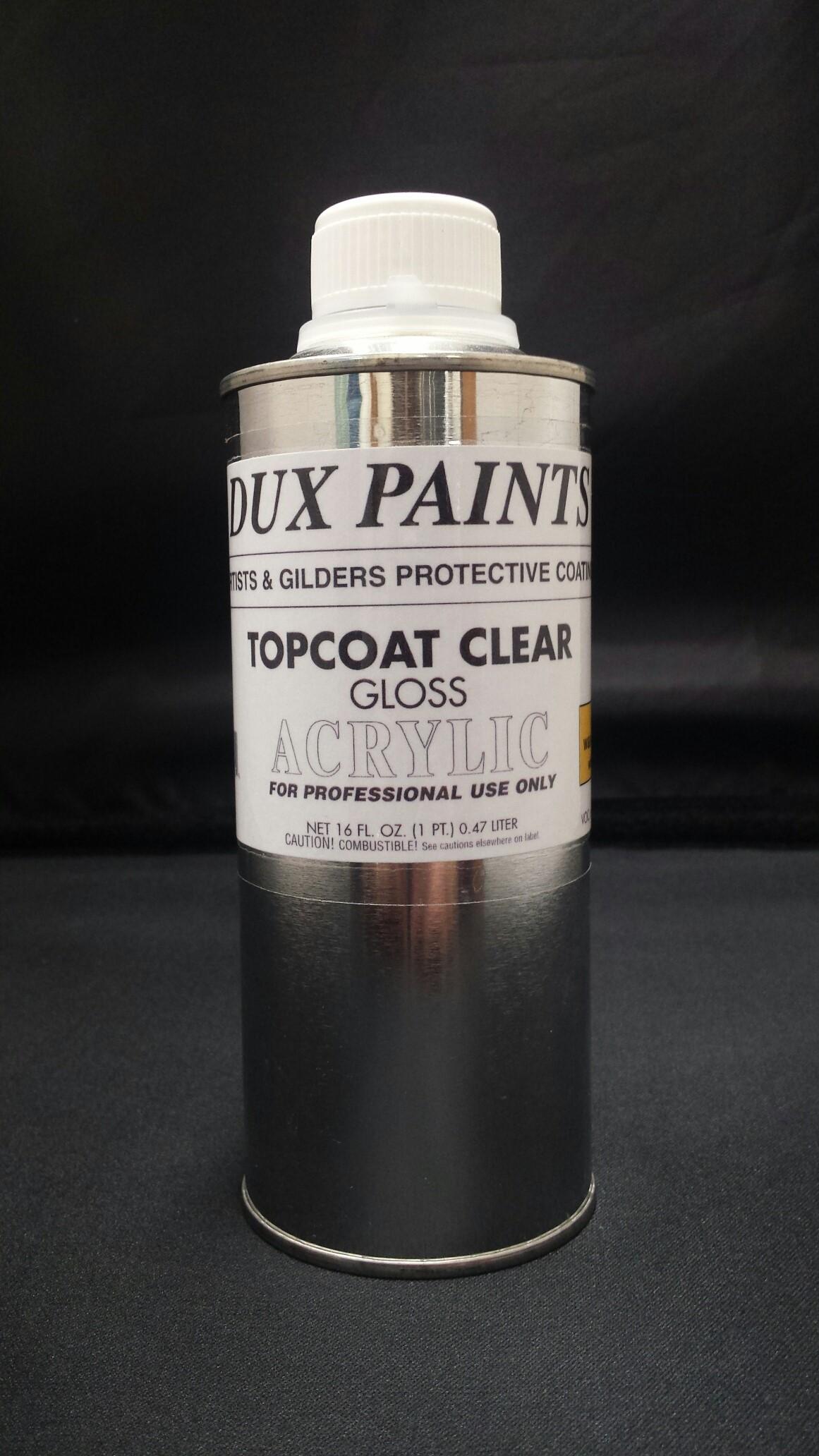 DUX Acrylic Sealer Topcoat Gloss / Satin