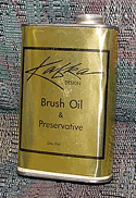 Brush oil & Preservative