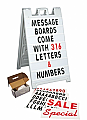 Plasticade Message Board 8400