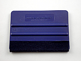 Avery Dennison Blue Felt Wrapped Squeegee